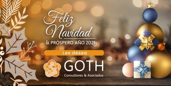 Felices Fiestas 2020 les desea GOTH